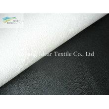 PLUTÔNIO em relevo suave tecido/falso couro PU couro tela