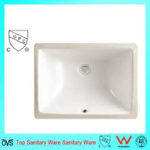 Moderno Popular Baja Precio Cuarto de baño de lavado de cerámica de mano bajo el mostrador de la cuenca