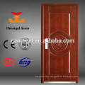 Exterior safty armor steel wooden door