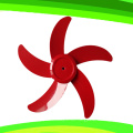 5 Blade 16 Inches 12V DC Stand Table Fan Rechargeable Fan (SB-T5-DC16C)