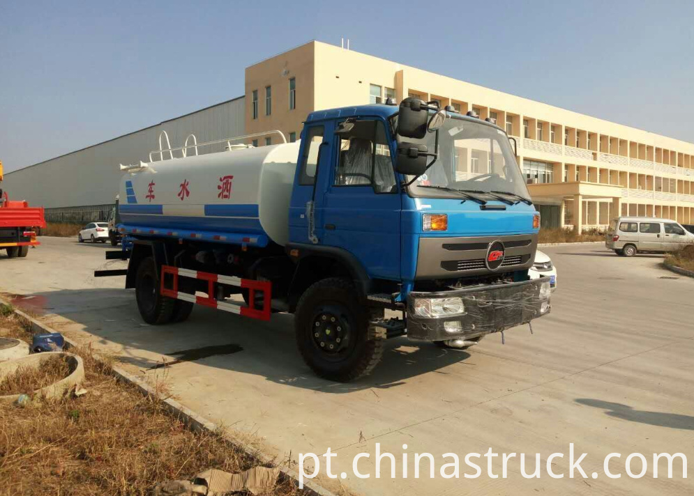 Dongfeng old model 10CBM water truck