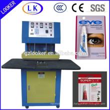 Machine de cachetage de boursouflure de colle de carton