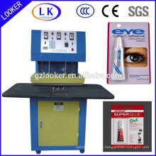 Cardboard glue Blister sealing machine