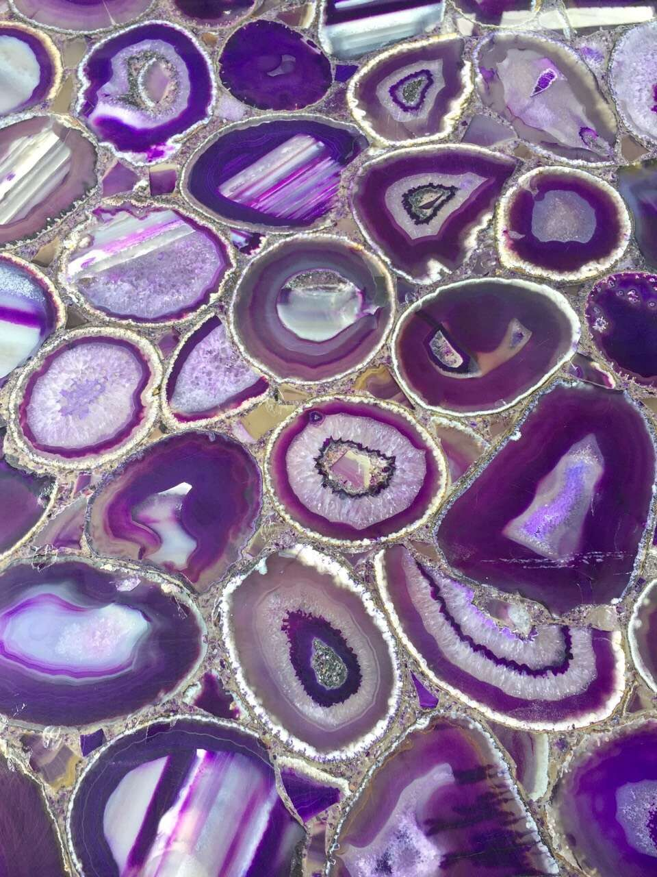 Natural Purple Agate