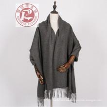 Chal de lana unisex estilo ACNE