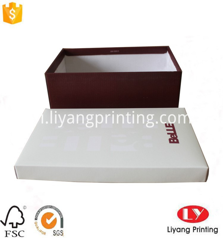 shoes pacakging corrugated box