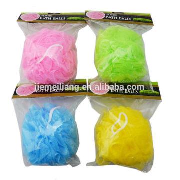 2014 Protect body nylon mesh bath ball