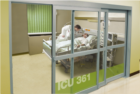 Automatic Sliding Doors for Hospital Partitions