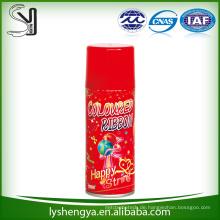 Weihnachtsfestschneespray für unterschiedliche Farbe