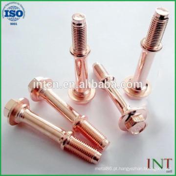 Serviços de fabricação personalizados peças de alumínio de precisão de torno cnc não-padrão