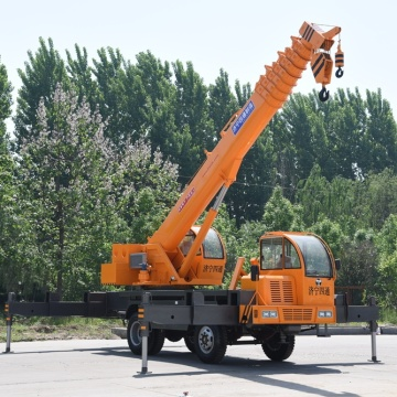 Construction Machinery Hydraulic Truck Mounted Crane 12 Ton