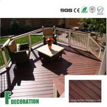 Co-Extrusion WPC Solid Core Composite Decking Outdoor Flooring
