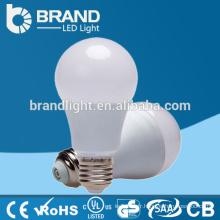 High Brightness Plastic + Aluminium 9W E27 A60 LED ampoule, CE RoHS