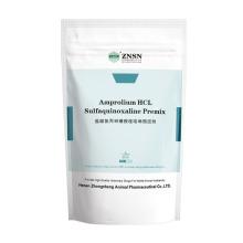 ZNSN Amprolium HCL y polvo de sulfaquioxalina soluble en sodio