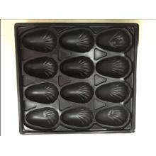 Les échantillons libres disponibles d'OEM ont offert le plateau en plastique formé par vide de 1000ml pp pour l'emballage d'huître pour le restaurant