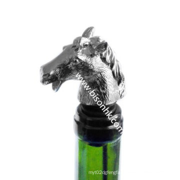 Horse Head Wine Pourer, Bottle Pourer