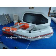 (CE) 0,9 mm color opcional material barco inflable del pvc para la venta H-SM270