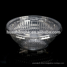 Take Away Manufacture Customized Clear Disposable Plastic Bowl