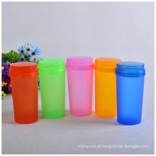 Garrafa de água colorida de plástico barato para publicidade