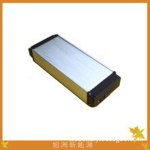 High Energy Density Tac 36v / 24v 10ah Electric Bike Battery Pack With Aluminum Shell Coat