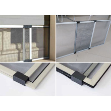 Aluminum extendable window screen