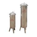 SUS 304 Bag Filter Housing and PP Filtering Cartridge