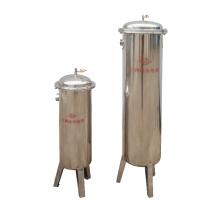 SUS 304 Beutelfiltergehäuse und PP Filterpatrone