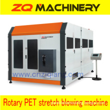 Reheat Rotary Stretch Blow Molding Equipment With Ce