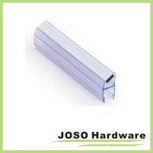 Sello de PVC duradero para puerta de vidrio Dg102