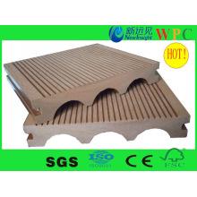 Популярная напольная WPC композитная опалубка с CE, SGS, Europe Stnadard