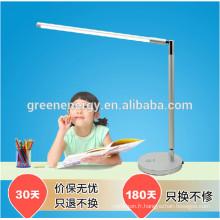 Dimmable pliant bureau lumière 7 w haute puissance tactile capteur luminosité réglable lampe de table