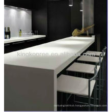 black solid surface long bar top ,long bar table