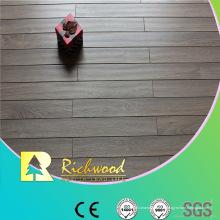 Plancher stratifié imperméable de chêne de relief commercial de 12.3mm AC4
