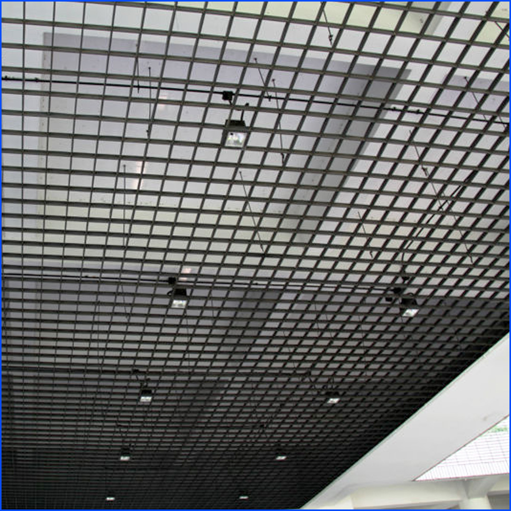 Galvanized Grating Ceiling