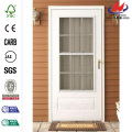 300 serie blanco Colonial puerta Triple carril