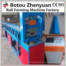 Meistverkaufte Metalldachkante Kappenrollenformmaschine für Verkauf / Förderung Warenlinie