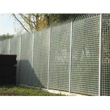 Hot DIP Galvanized Steel Fence for Outdoor