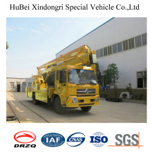 22m Dongfeng Euro 4 Aerial Work Platform Truck