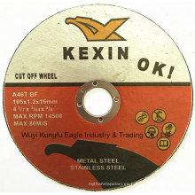 Disco caliente del corte de cepillo redondo de 4 pulgadas 2016 para el acero inoxidable