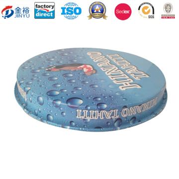 Bandeja rectangular de lata de alimentos con bandeja de impresión Bespoken Jy-Wd-2015122817