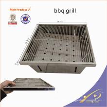 BBQ001 Mini barbecue portable barbecue en acier inoxydable pour la pêche