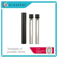 12ml Shiny Black Nachfüllbare Twist und Spray Eau de Parfum Spray Flasche