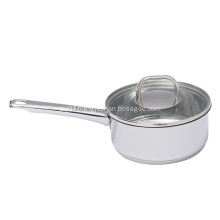 Household Stainless Steel Saucepans with Kitchen Set