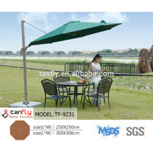 6m diameter large outdoor luxury commercial umbrella