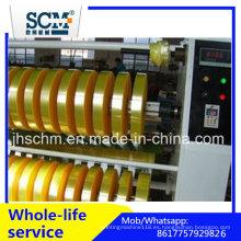 Cortadora de cinta BOPP y máquina de rebobinado