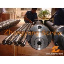 Jwell Parallel-Twin-Schnecke und Zylinder für PVC