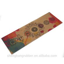 Machine Washable Non-slip Comfort Antimicrobial Absorbent superior materials eco linen yoga mat