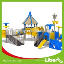 kids plastic slide,outdoor children playground equipment,outdoor playground set LE.HD.015
