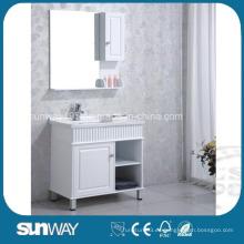 Gabinete de baño de MDF con pintura de alto brillo