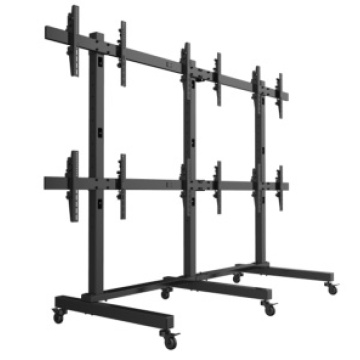Wheeled Multi Display Mounts (EVS202)